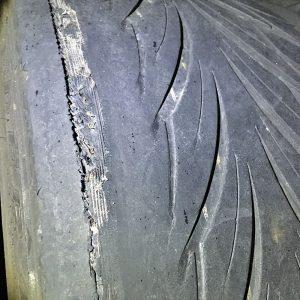 M3のリアタイヤ終了