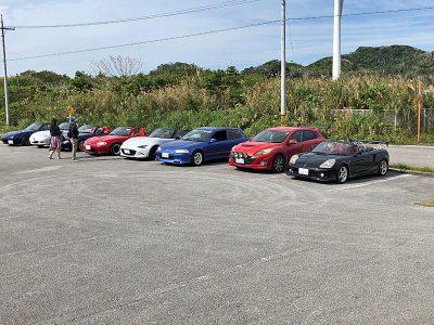 石山展望台 駐車場